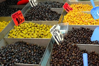 Olives in The Grand Bazaar