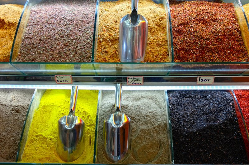 Spices in The Spice Market