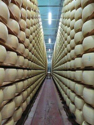 Emilia Romagna  Parmigiano cheese
