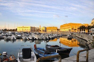 Puglia trani Harbour