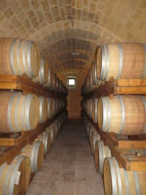 Puglia wine cellars
