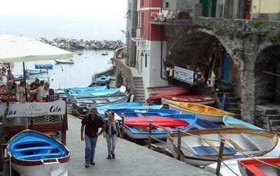 Riomaggiore Cinque Terra harbourfront