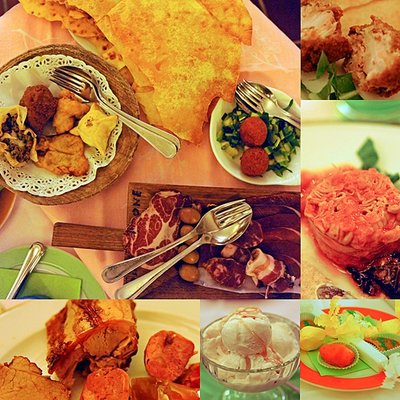 Sardinian feast by Kat