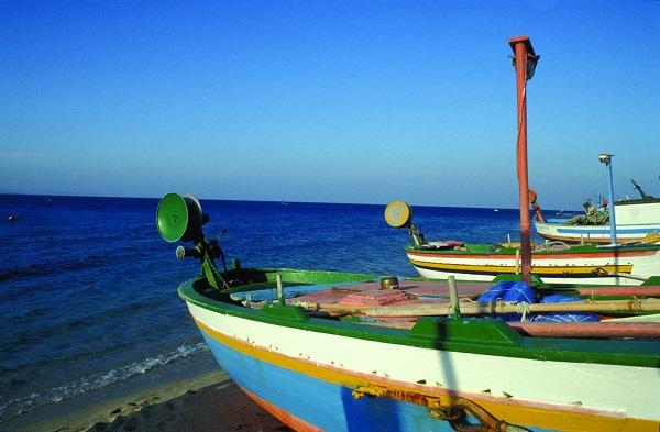 Calabria fishing boat