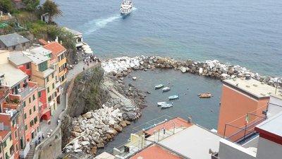 riomaggiore view from apartment