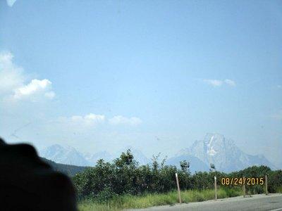 Teton car view
