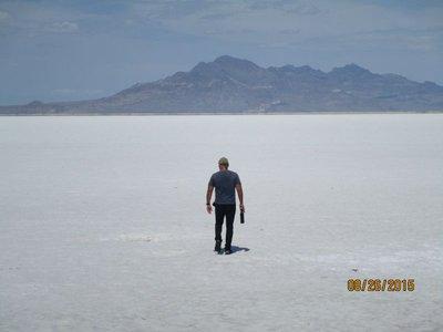Utah salt flats g
