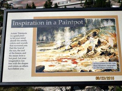 YEL artists paintpots sign