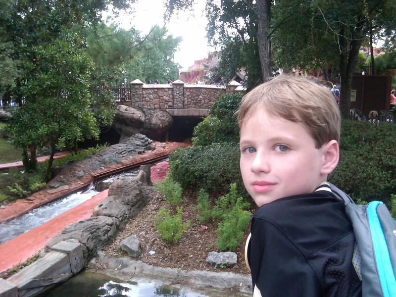 Joseph at Magic Kingdom Walt Disney World