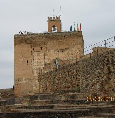 Alcazaba tower