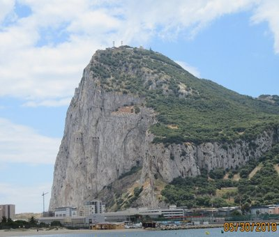 Best photo of the famous rock of Gibraltar
