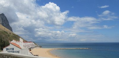 A pocket beach