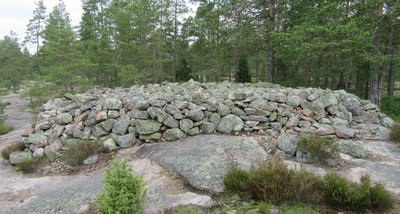Bronze age burial grounds