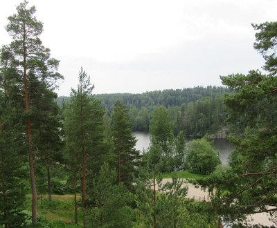 View from Haltia, The Finnish Nature Centre