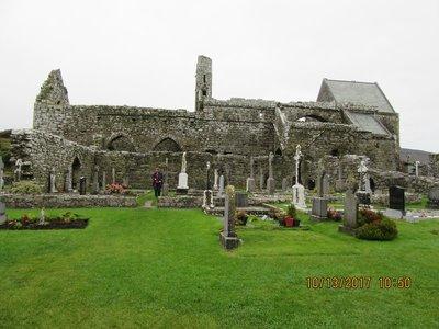 Ruins of Corcomroe Abbey