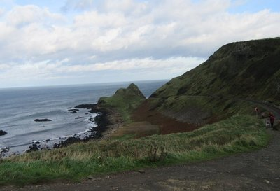 Walk from visitor centre to causeway