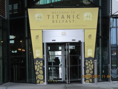 Entrance to Titanic Museum