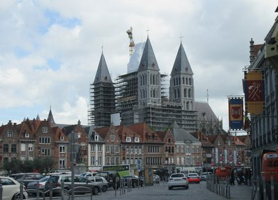 Cathedral of Notre Dame in Tournai