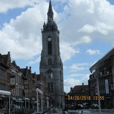 Belfry to Tournai
