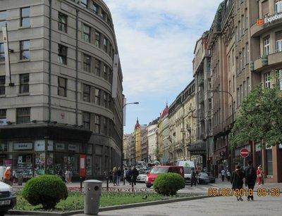Street scene in Prague