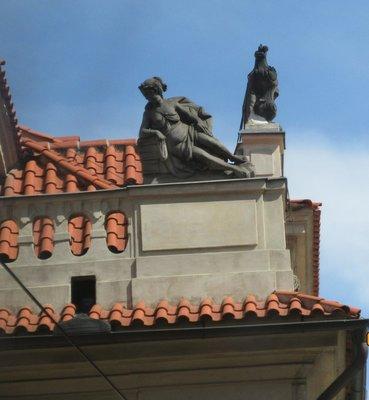 Roof line art