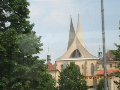 Modern spires