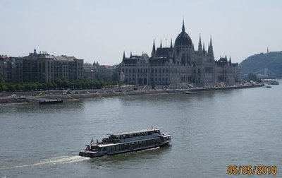 Parliament Buildings on the shore of Danube River