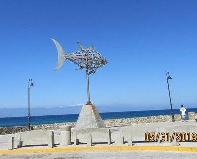 Sculpture of a fish