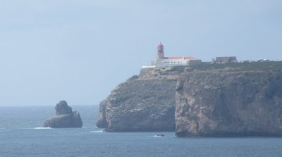A view of Cape St. Vincent from Cape Sagres