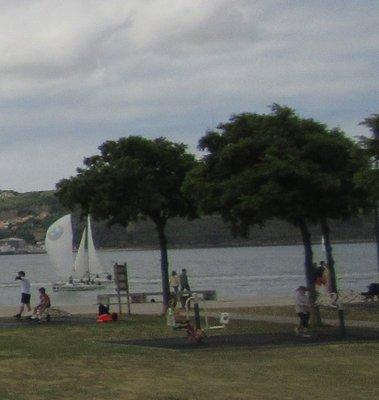 Sailboats on the Tagus