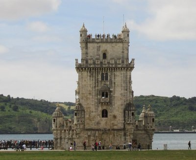 The Tower of Belem - built between 1514 and 1520 as part of a defence system