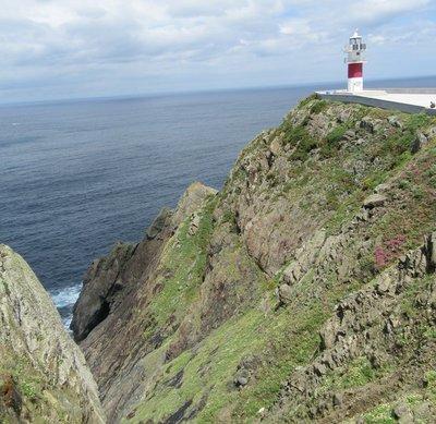 The Faro de Cabo Ortegal or Lighthouse of Cape Ortegal