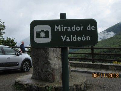 Mirador or viewpoint