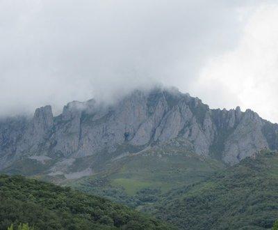 A mountain near the information centre