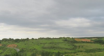 Hills and fields