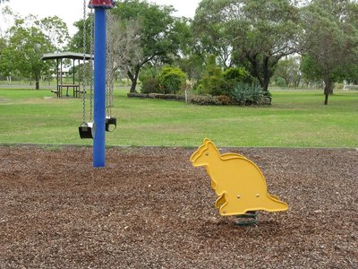 Cute playground toy