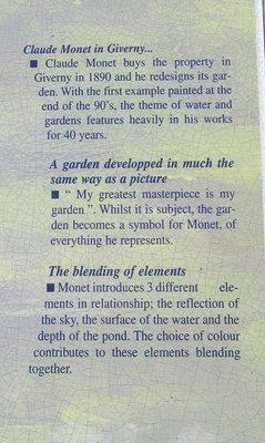 Story of Monet's garden