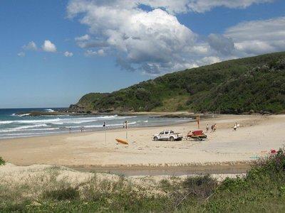 Lifeguards on duty - Frazer Beach
