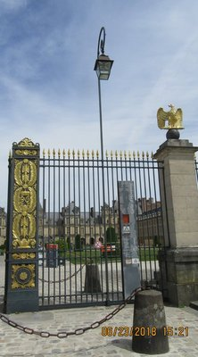 Impressive front gates