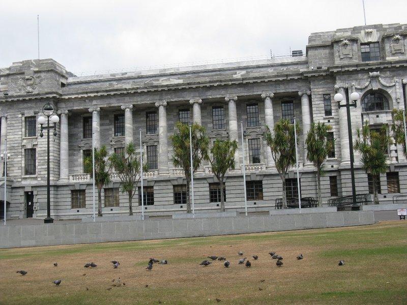 New Zealand Parliament Bldg