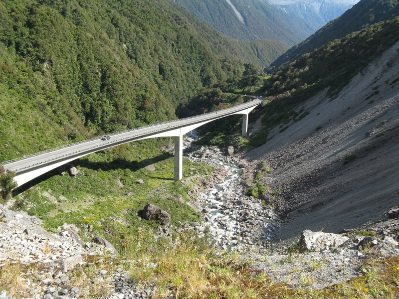 Otira Viaduct near Arthur's Pass