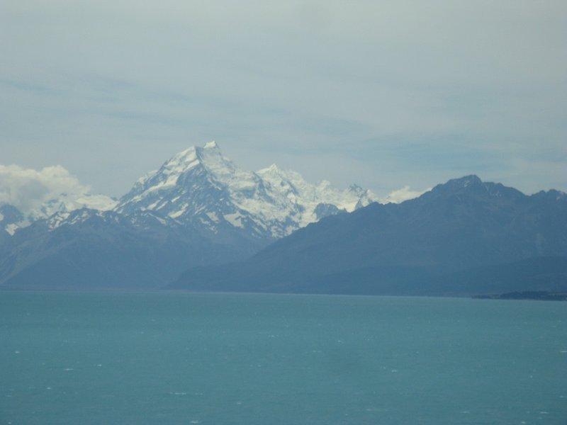 Mt Cook (Aoraki in Maori) from across Lake Pukaki