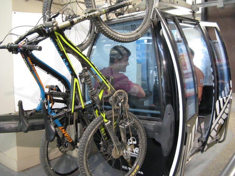 Bicycles on the Gondola