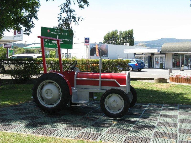 Playground tractor