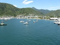 Good bye Picton on the South Island