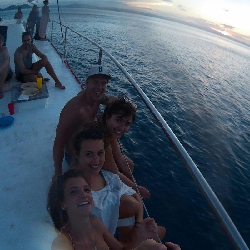 Selfie on board
