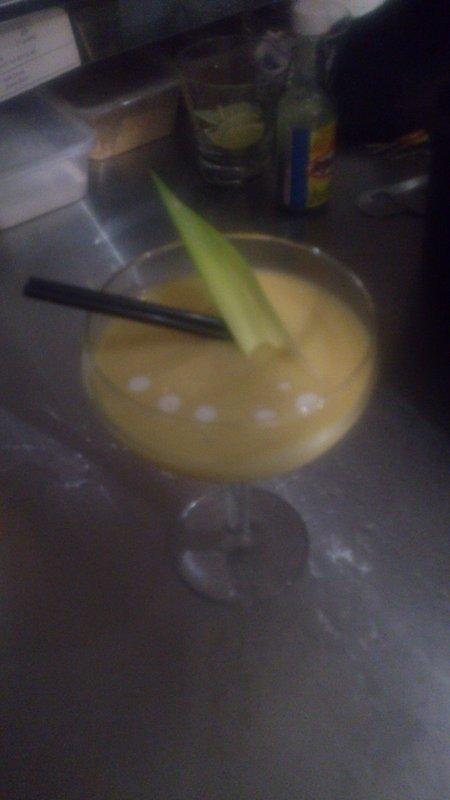 Mango Anejo Colada