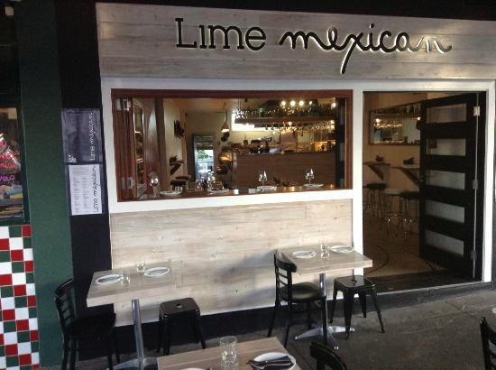 My new job - Lime Mexican Restaurant