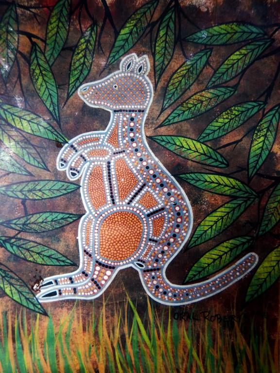Kangeroo Aboriginal Art