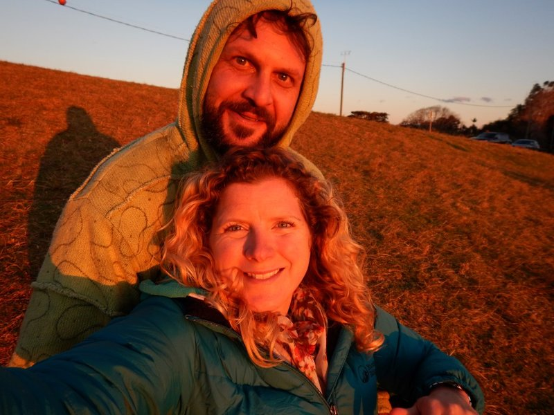 Mark & Charly sunset hill1